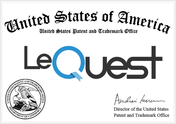 LeQuest is granted a U.S. trademark